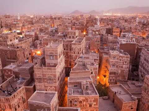 Sana'a is the beautiful capital of Yemen , travel, tourism, hotels, old city of Sanaa