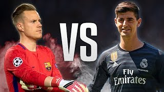 Thibaut Courtois vs Marc-André Ter Stegen - Who is the Best? Crazy Saves 2018 HD