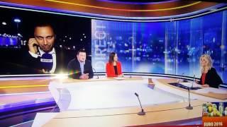 Belgique Hongrie euro 2016 présentateur rtl tvi en colère direct