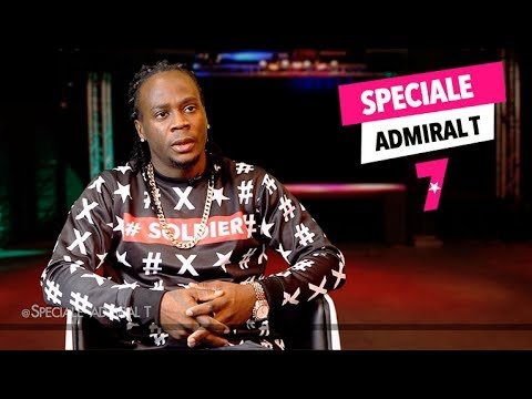"ADMIRAL T sur 7 TV: "" Il n'y a pas d'Admiral T sans ma femme, Jessica Campbell ""..."