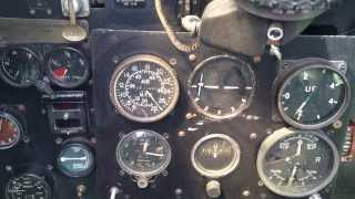 WW2 Spitfire startup