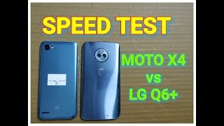 Moto X4 vs LG Q6 Plus - Speed Test | Multitasking | Comparison | Benchmark Results