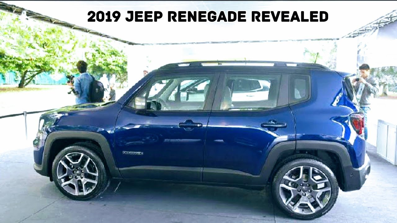 India Bound Jeep Renegade 2019 In Images Launch In Late 2018 Or