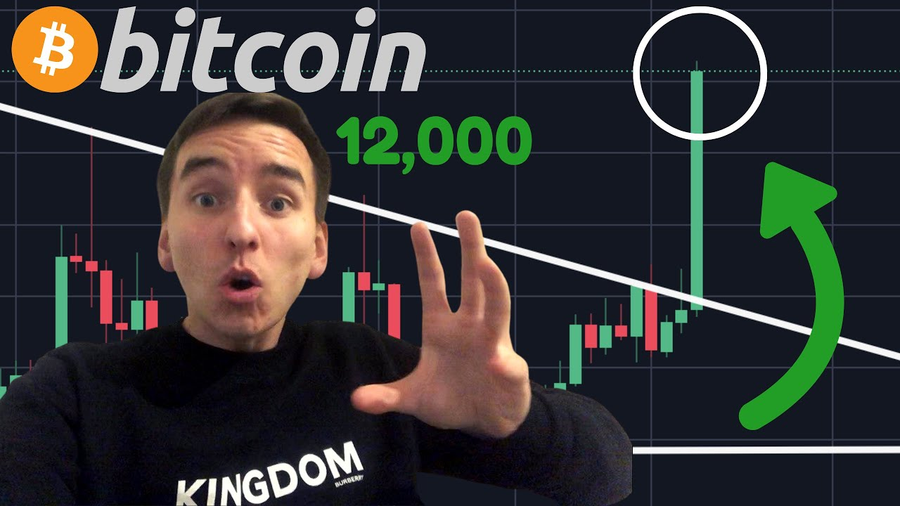OMG BITCOIN IS BREAKING OUT TO $12,000 RIGHT NOW!!!!!!!!!!!!!!!!