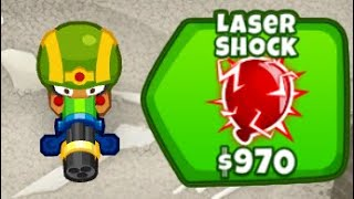 Dominating Half Cash CHIMPS With Laser Shock