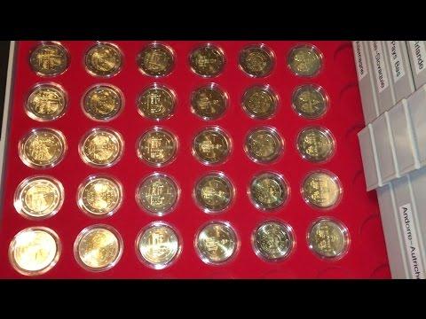 Euro Numismatique : 327 pièces de 2€ commémoratives différentes (9 nouvelles pièces commémoratives)
