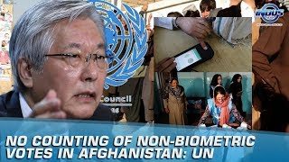 UN Asks To Not Count Non-Biometric Votes In Afghanistan | Indus News