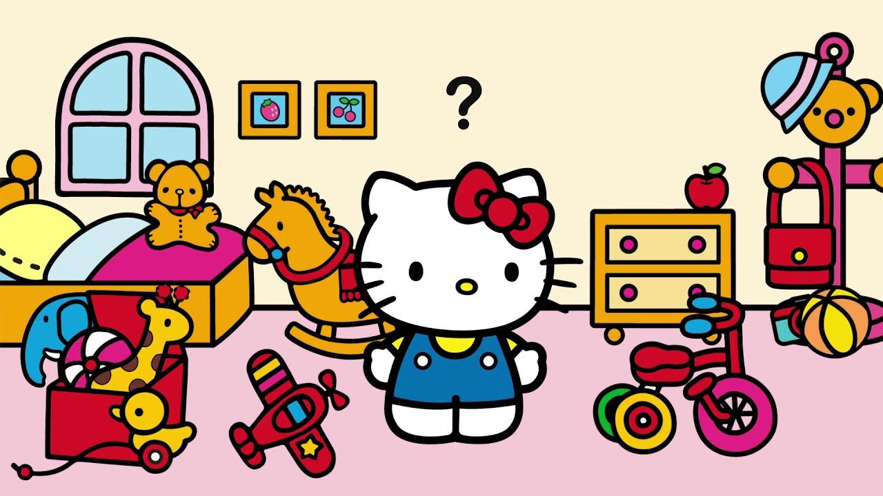 Jogo Ajude A Hello Kitty A Encontrar A Camera Fotografica Youtube