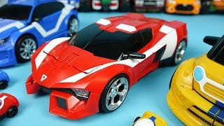 TOBOT transformers car toys A B C and CarBot