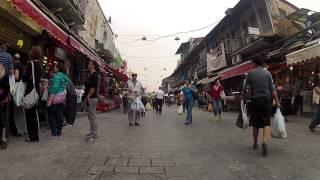 Bicycle Trip in Jerusalem - GoPro Hero2
