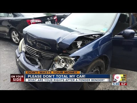 Insurance company: Please don't total my old car