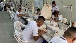 New prison program in El Salvador aims to equip inmates with job skills