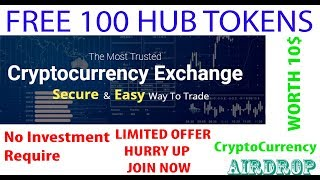 Free 100 Crypto Token | HUBTREX | Get 100 Tokens Now - Worth 10$ - Upcoming Crypto Currency