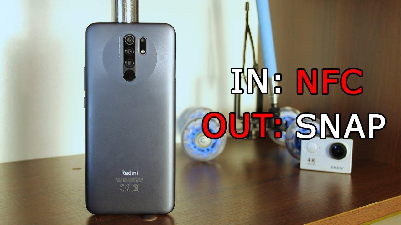 Xiaomi Redmi 9. Наличие NFC спасает ситуацию.