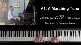 A:1 A Marching Tune (ABRSM Initial Grade piano 2021-2022)