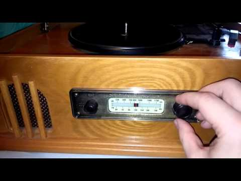 Spirit of st. Louis record cassette player radio