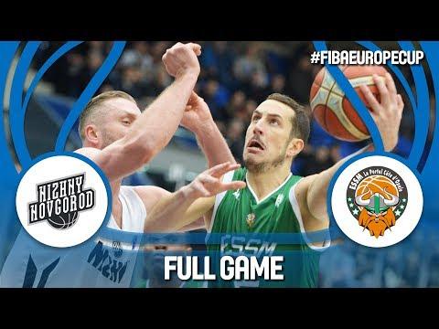 Nizhny Novgorod (RUS) v ESSM Le Portel (FRA) - Full Game - FIBA Europe Cup 2017-18