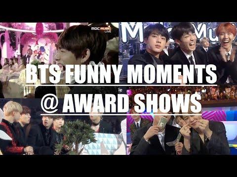 BTS FUNNY MOMENTS @ AWARD SHOWS
