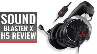 Sound BlasterX H5 Gaming Headset Review