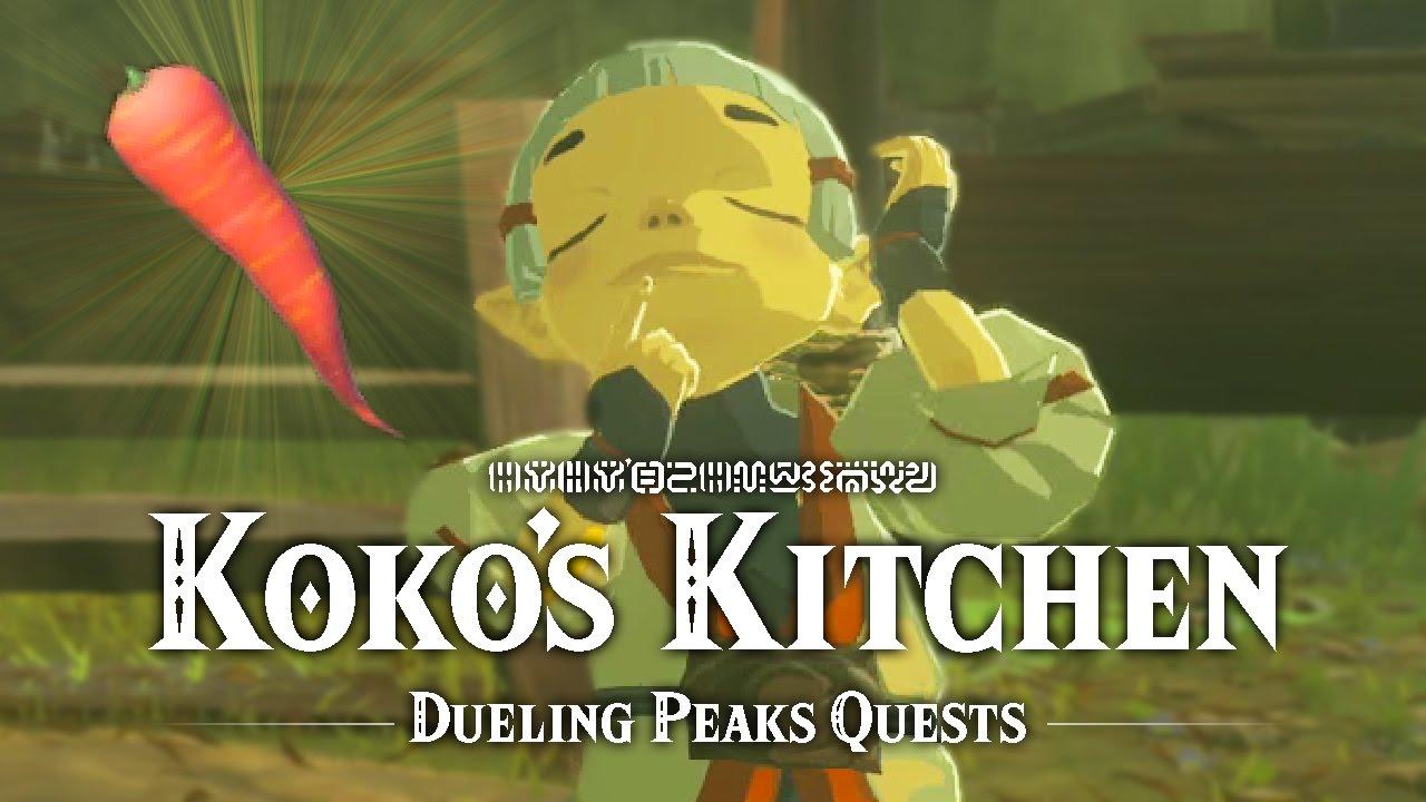 Koko\'s Kitchen - Dueling Peaks Quests - The Legend of Zelda: Breath ...