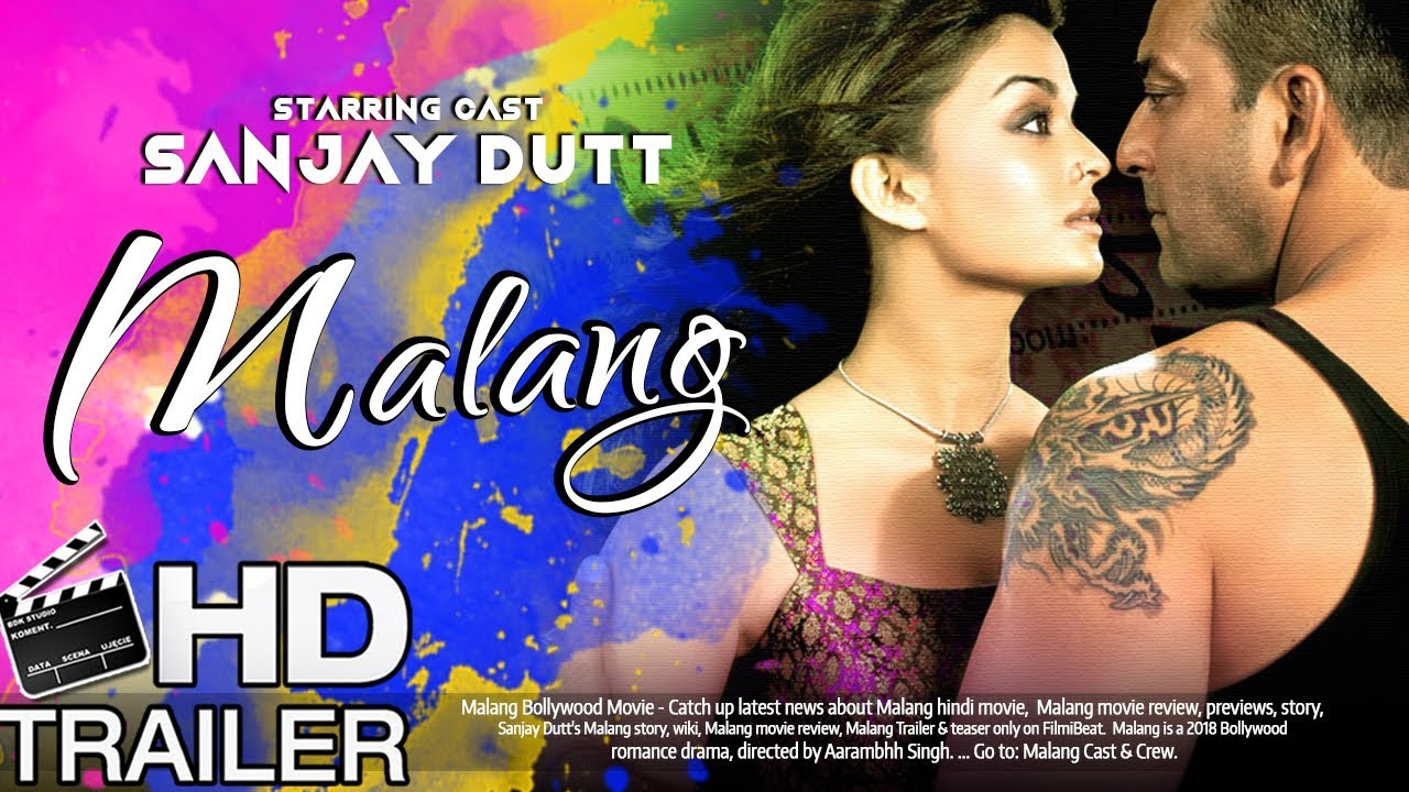 Malang First Look 2018 Sanjay Dutt And Aishwarya Rai Upcoming Movie Youtube