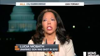 Lucy McBath  - All In with Chris Hayes 9/17/2013