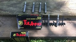 Shooting/review Tulammo  .223 55 grain ammo