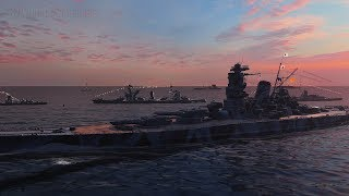 [ World of Warships ] Нічна прогулянка