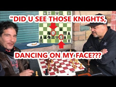 Can't Believe Al's 2 Killer Knights Dancing On Dave's Face!