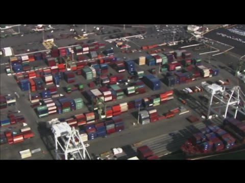 California: Port shutdown