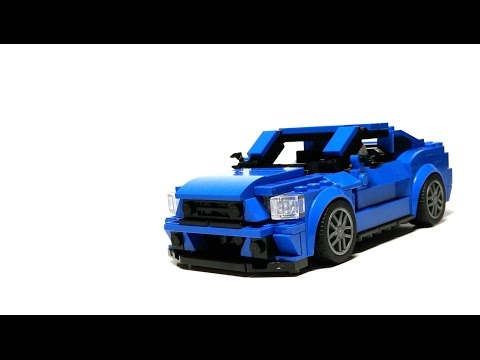LEGO Speed Champions 75871: Ford Mustang GT (MOC)