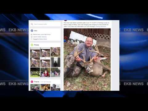 Kentucky Fish And Wildlife Officers Investigating Stolen Deer