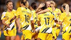 Match Highlights - Australia v Thailand - Women's Olympic Football Tournament Qualifier