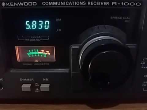 WTWW, Lebanon USA - 5830 kHz