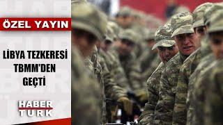 Türk askerine Libya yolu...