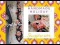🎄 Sewspire Handmade Holiday  🎁  How to Make a Custom Necktie