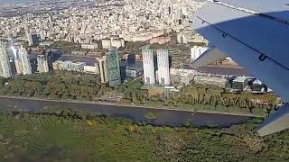 Aterrizando en Aeroparque Buenos Aires Mayo 2017