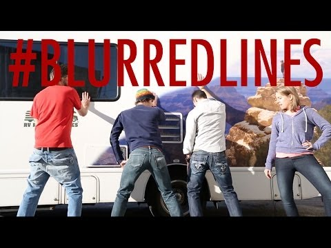 Robin Thicke BLURRED LINES (Parody) - made in our RV!