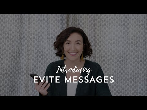 Introducing Evite Messages
