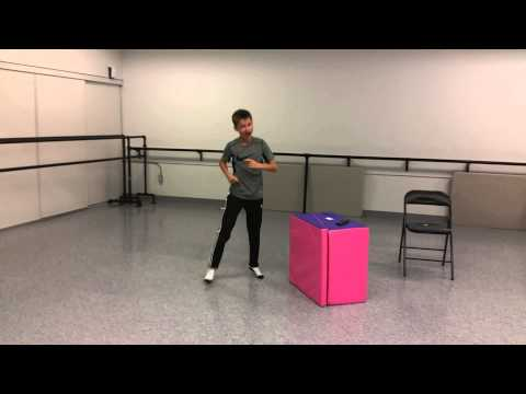 """Cameron Brodeur Musical theater dance """"Telly"""" from Matilda"""