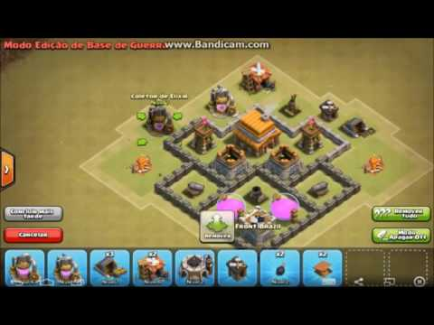 melhor layout cv 4 guerra e defesa clash of clans - Layout Cv 4 Guerra