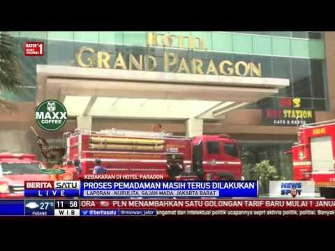 Lantai 6 Hotel Grand Paragon Terbakar