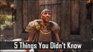Skyrim: 5 Things You Probably Didn't Know You Could Do - The Elder Scrolls 5: Secrets (Part 9)