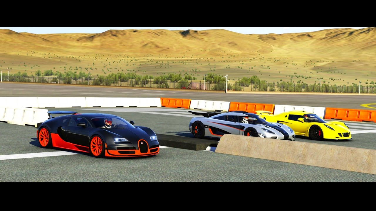 forza 6 with ahmad zemflo bugatti veyron vs koenigsegg one 1 vs hennessey venom gt youtube. Black Bedroom Furniture Sets. Home Design Ideas