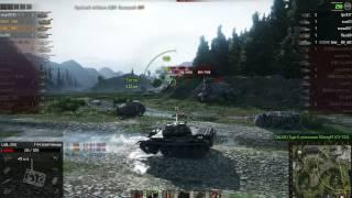 Т-54 полегшений, Перевал, Стандартний б