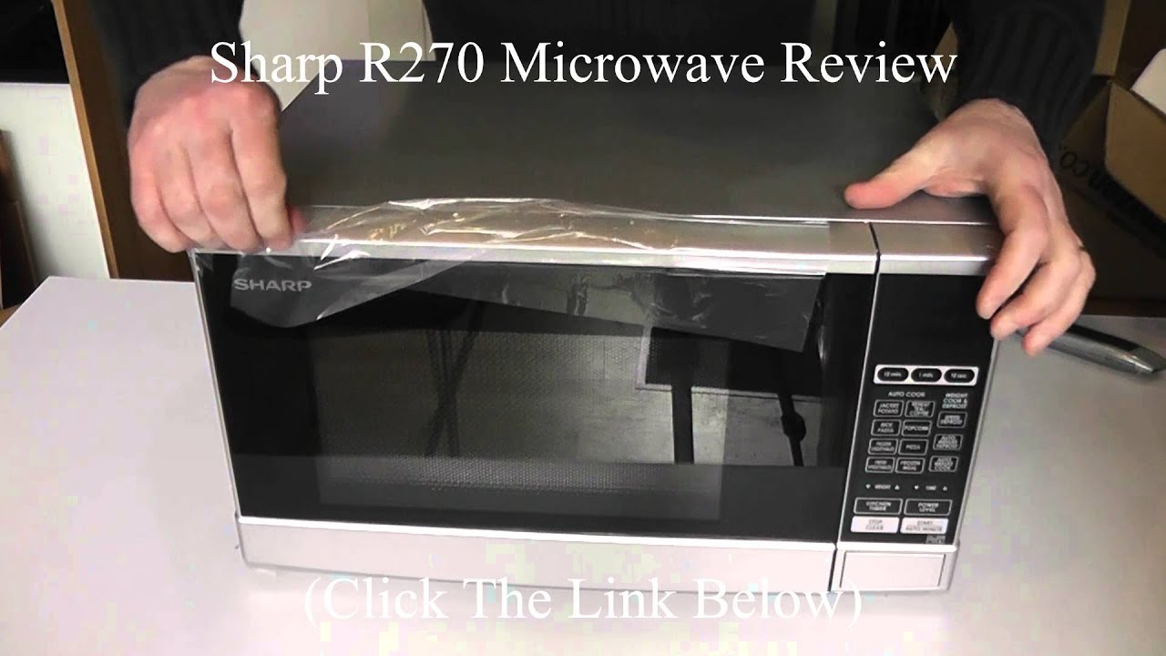 Sharp 270 Microwave Oven Review