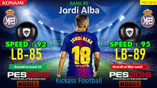TOP 15 LB - PES 19 MOBILE @ MAX LEVEL | Feat. Marcelo, Alaba, Alba, Sandro, Luis, etc...