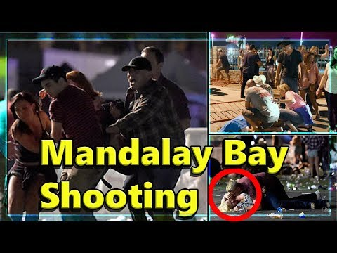 Mandalay Bay Shooting - NEW FOOTAGE - Las Vegas Shooting - Compilation of all angles