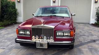 1988 Rolls-Royce Silver Spirit for sale by Auto Europa Naples MercedesExpert.com