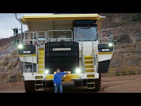 Liebherr's 100 tonne class T-236 mining truck